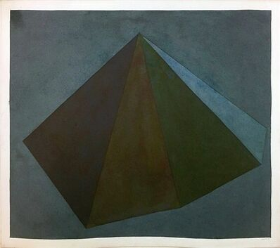 Sol LeWitt, 'Pyramid', 1985