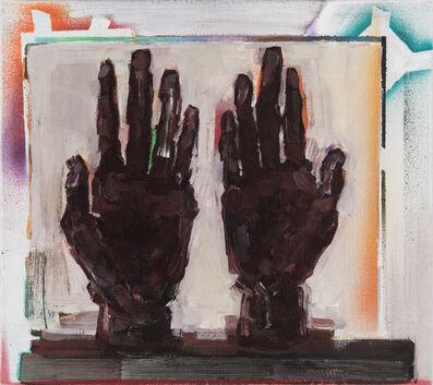 Aukse Miliukaite, 'Painted hands/Hands of painting', 2018