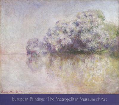 Claude Monet, 'Ile Aux Orties, Near Vernon', 1985