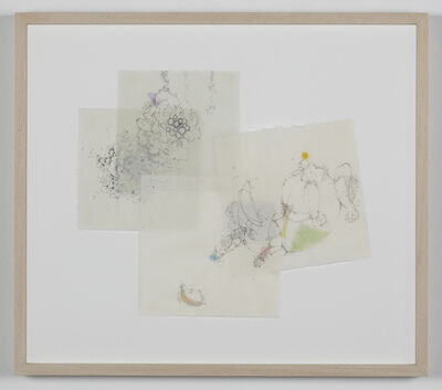Yuko Someya, '2014年.3月.ドローイング.月曜日   2014. March. drawing. Monday ', 2014