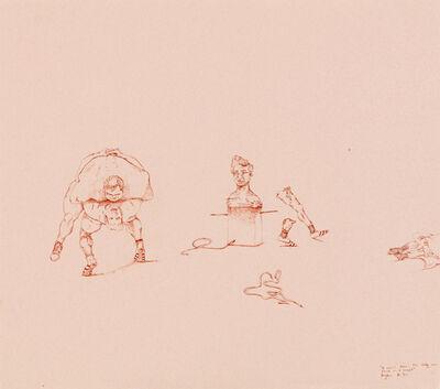 Breyten Breytenbach, 'The wrestlers', 1972