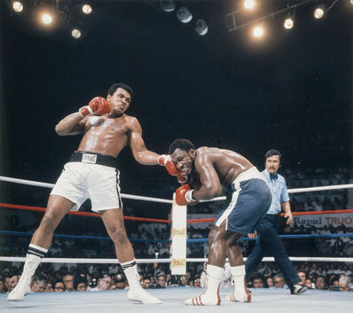 Lawrence Schiller, 'Muhammad Ali Defeating Floyd Patterson, Las Vegas, Nevada', 1965-printed later