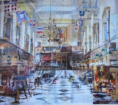 Alison Pullen, 'Royal Hospital Chelsea, Great Hall (flags)', 2018