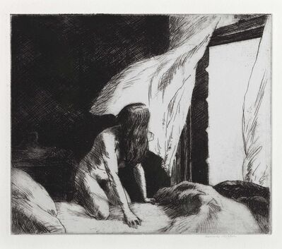 Edward Hopper, 'Evening Wind', 1921