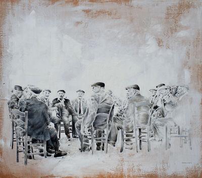 Fabio de Santis, 'Il cerchio della saggezza', 2017
