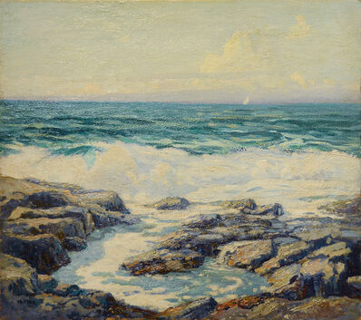 Wilson Irvine, 'The Spring Waves, Monhegan Island', 1869-1936