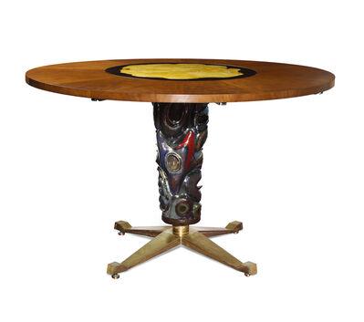 Melchiorre Bega, 'Circular Center/Dining Table', ca. 1953
