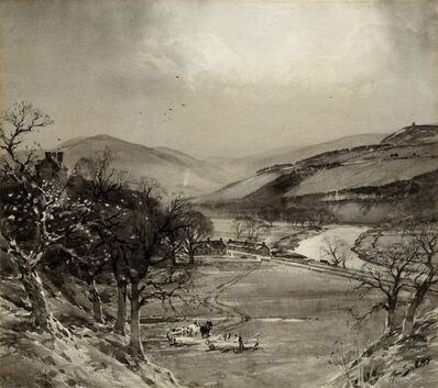 Thomas Scott, 'Farmer in the valley'