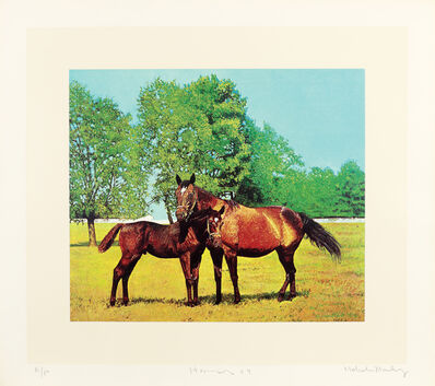 Malcolm Morley, 'Horses', 1969