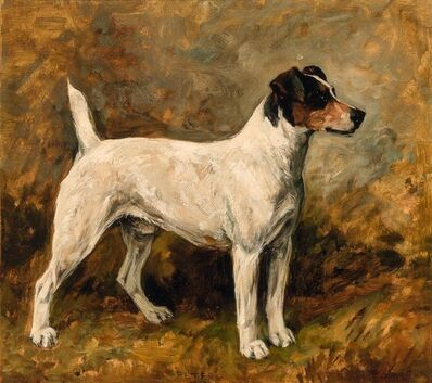 John Emms, 'Peter - A Fox Terrier', 1899