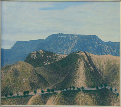 Bill Sullivan, 'Hollywood Sign the Distance', ca. 1970