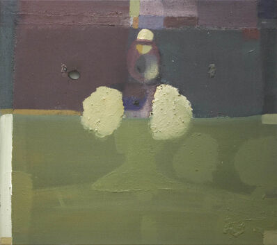 Merlin James, 'Untitled (Head)', 2007