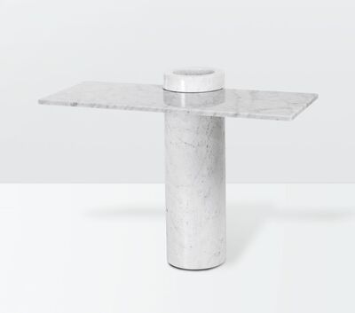 Angelo Mangiarotti, 'a Loico console table with a marble structure', ca. 1970