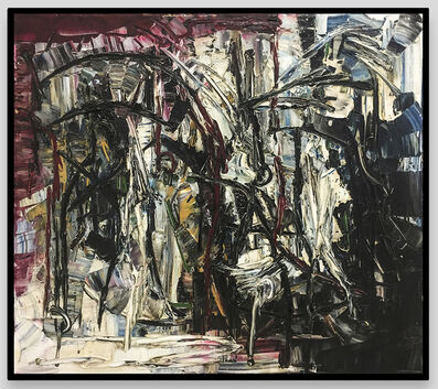 Jean-Paul Riopelle, 'Two Shinnebock Whalers ', 1960