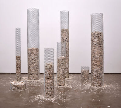 Manolis D. Lemos, 'Feelings (Columns)', 2019