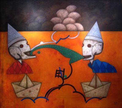 Orlando Boffill, 'James Ensor y Yo ', 2012