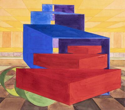 Al Held, 'Umbria 13', 1992