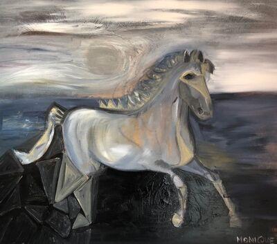 Monica Pennetti, 'Blue Horse', 2020