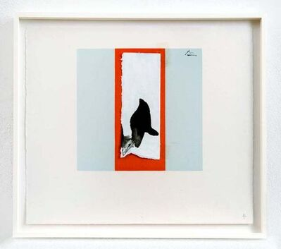 Robert Motherwell, 'Untitled (Collage study for Berggruen Series)', 1980