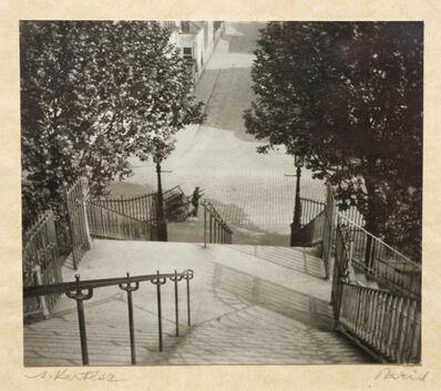 André Kertész, 'Stairs, Montmartre', 1926