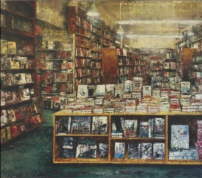 Massimo Giannoni, '(GVA) Bookstore angolo sinistro', 2018