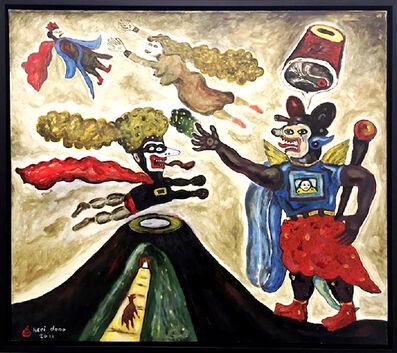 Heri Dono, 'A mountain king who protect his family', 2011