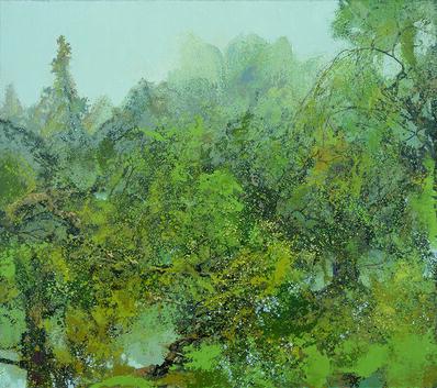Hong Ling, 'Translucent Green', 2015