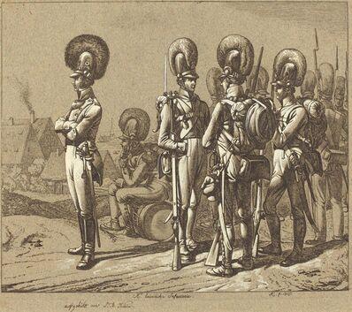 Johann Adam Klein, 'K. baierische Infanterie (Bavarian Infantrymen)', 1816
