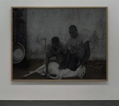 Luc Delahaye, 'Sacrifice d'un bélier', 2019