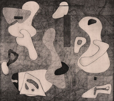 Alice Trumbull Mason, 'Interference of Closed Forms', 1945