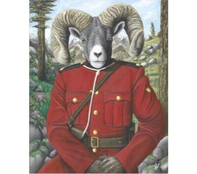Josh Harnack, 'RCMP Bighorn Sheep', 2017