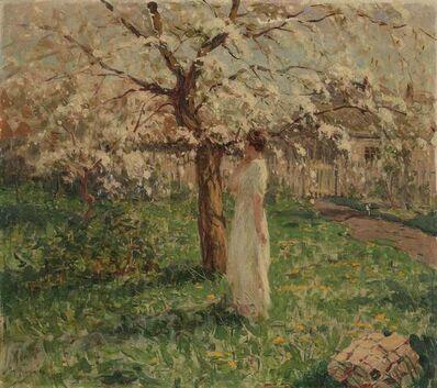 Vladimir Nikolaevich Fedorovich, 'Woman Under a Flowering Tree', 1922