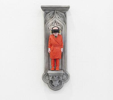 Isaac Cordal, 'TRAVELLER', 2021