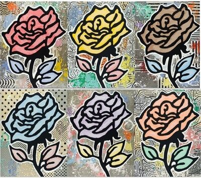 Donald Baechler, 'Rose series', 2015