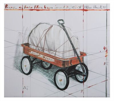 Christo and Jeanne-Claude, 'Package on Radio Flyer Wagon, Project ', 1993