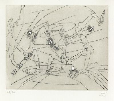 Roberto Matta, 'The New School.', 1943-44 (printed in 1980)
