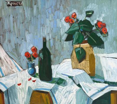 Christa Kirova, 'Still life with flowers', 2020