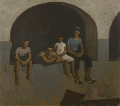 Alberto Morrocco, 'Sicilian Family'