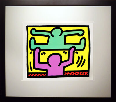Keith Haring, 'Pop Shop I D', 1987