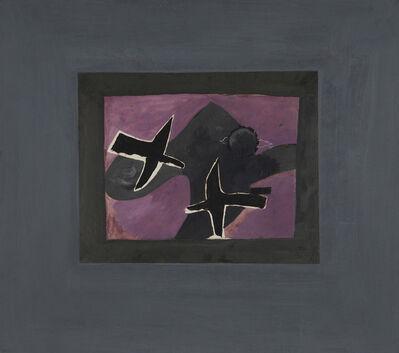 Georges Braque, 'Les deux oiseaux noirs', 1956