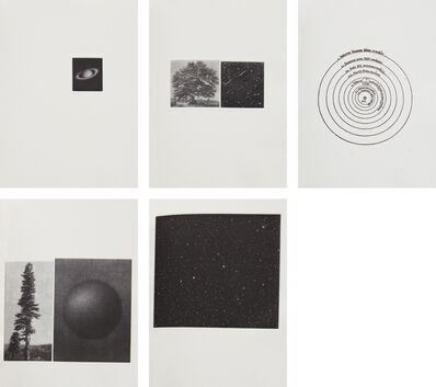 Vija Celmins, 'The View', 1985