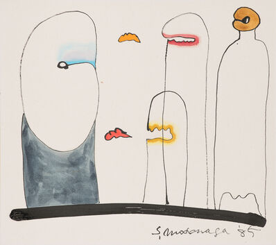 Sadamasa Motonaga, 'Work', 1985