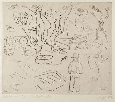 Ralf Winkler (A.R. Penck), 'Gostritzer 92', 1977