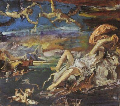 Jörg Ernert, 'Der Raub der Europa (after Tizian) 2. Fassung', 2011
