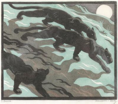 Norbertine Bresslern-Roth, 'Shadows (Black Panthers)', 1934