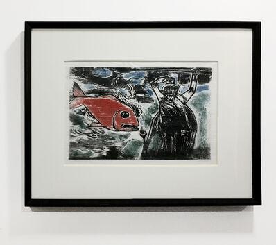 Oswaldo Goeldi, 'Pescador Perdido', ca. 1955