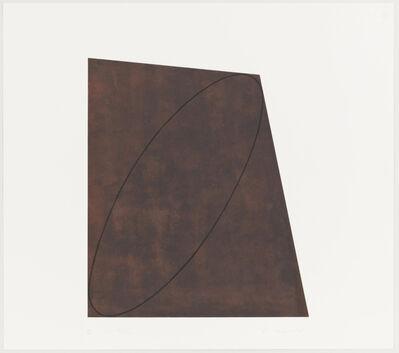 Robert Mangold (b.1937), 'I, from Attic series I', 1991