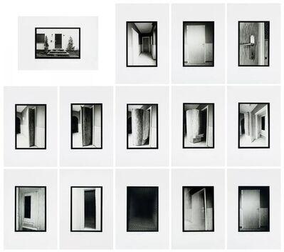 Gregor Schneider, 'ur8, TOTAL ISOLIERTER TOTER RAUM GIESENKIRCHEN 1989-90. 14-part photo series.', 1989/90