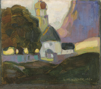 Herbert Gurschner, 'Village Landscape', 1926