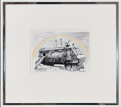Banksy, 'Police Riot Van - Dismaland Gift Print', 2015